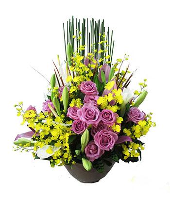 hoa cắm bình 5