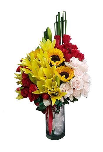 hoa cắm bình 11