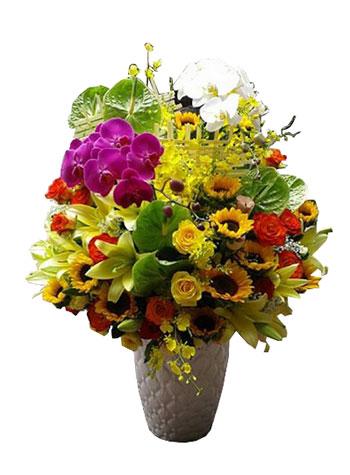 hoa cắm bình 9