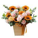 hoa giỏ-hg69