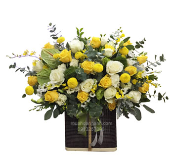 hoa giỏ-hg75